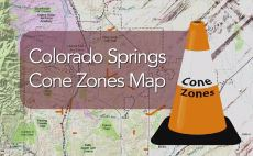 Cone Zones Map icon