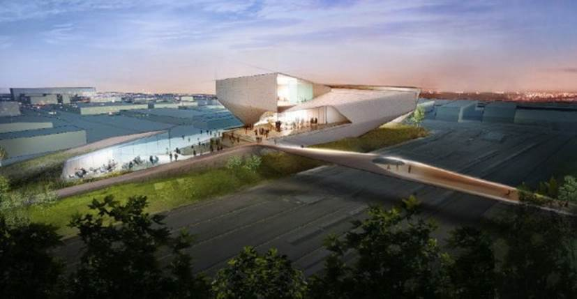 design of the olympic museum
