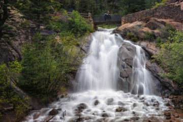 Falls in North Cheyenne