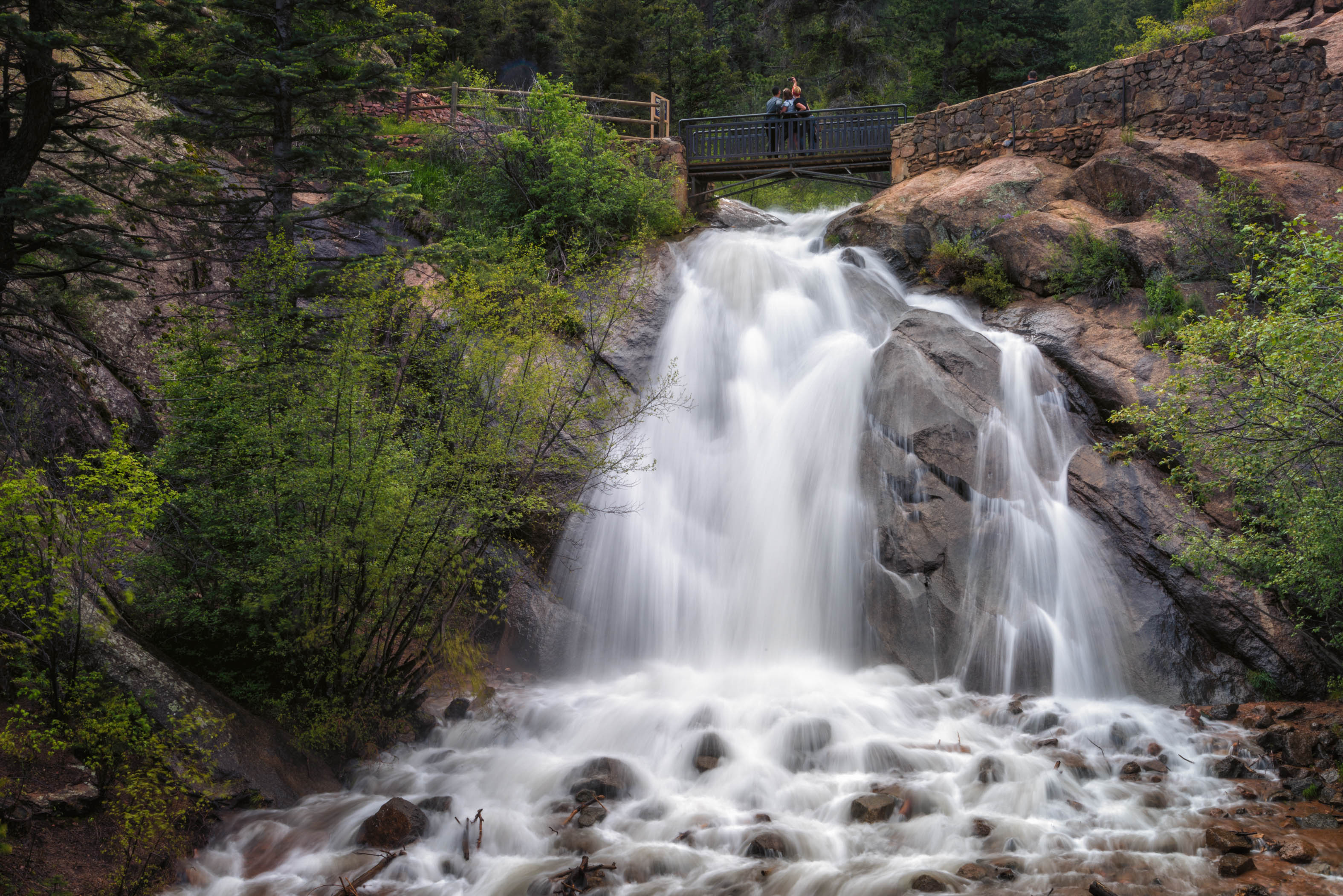 Hellen Hunt Falls in North Cheyenne Canon