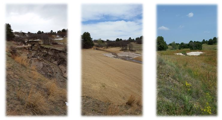 Sormwater project before and after