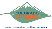 Colorado Springs - Parks, Recreation, Cultural Services. Link goes to Parks home page.