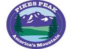 Pikes Peak Americas Mountain logo click here to get to the pikes peak homepage.
