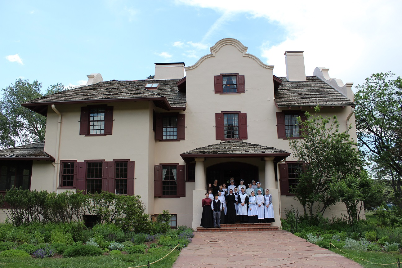 Front view of the Orchard House
