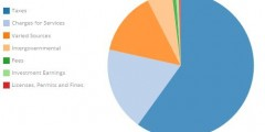 Open Book Pie Chart Graphic