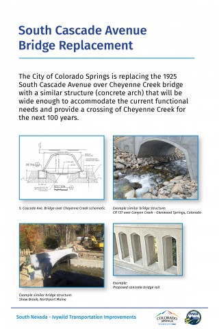 photos of cascade bridge