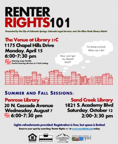 renter rights 101 flyer