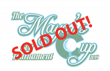 "mayor's cup graphic with words ""Sold Out"""